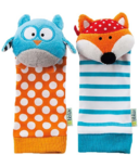 bbluv Duo Foot Finders Owl & Fox