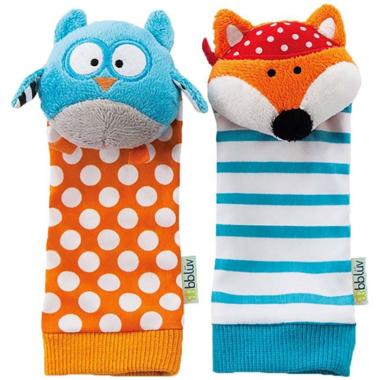 bbluv Duo Foot Finders Owl & Fox