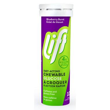 Lift Glucose Chews Blueberry Blast