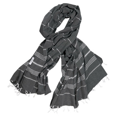 Lualoha Turkish Towel Classic Black