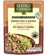 Seeds of Change Organic Brown Rice & Quinoa with Garlic