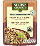 Seeds of Change Riz brun biologique et quinoa à l'ail