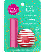 EOS Cherry And Bright Stick & Peppermint Cream Sphere
