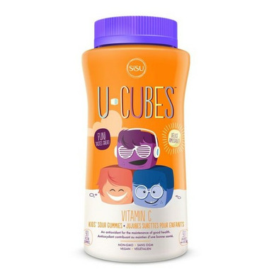SISU U-Cubes Vitamin C Gummies