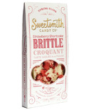 Sweetsmith Candy Co. Strawberry Shortcake Brittle