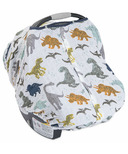 Little Unicorn Cotton Muslin Car Seat Canopy Dino Friends