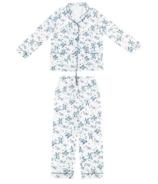 Nest Designs Women's Bamboo Long Sleeve Button-up Pj Set Bye Bye Birdie