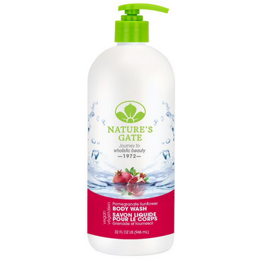Nature\'s Gate Pomegranate Sunflower Velvet Moisture Body Wash