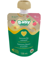 Baby Gourmet Plus Banana Fig Oatmeal Organic Baby Food