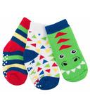 ZOOCCHINI Buddy Baby Sock Set Devin Dinosaur