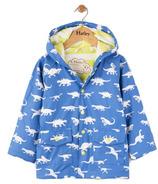 Hatley Colour Changing Baby Raincoat Dinosaur Menagerie