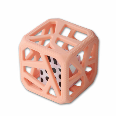 Malarkey Kids Chew Cube Peachy Pink