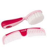 Safety 1st Easy Grip Brush & Comb Pink