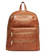 The Honest Company City Backpack Diaper Bag Cognac