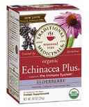 Traditional Medicinals Organic Echinacea Plus Elderberry Tea