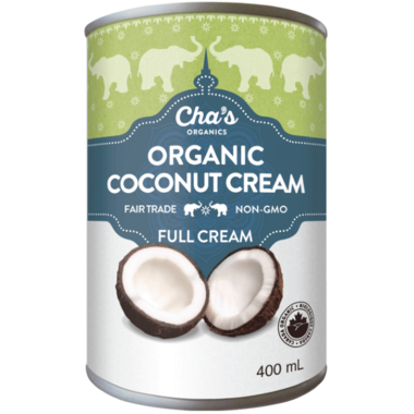 Cha\'s Organics Coconut Cream Full Cream