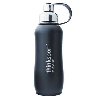 Thinksport Stainless Steel Insulated Water Bottle Black