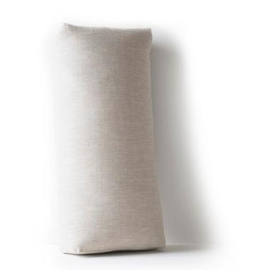 Halfmoon Rectangular Bolster Natural Linen