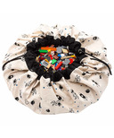 Play & Go Toy Storage Bag & Playmat Space Glow in the Dark