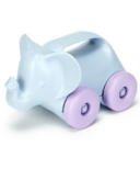 Green Toys Animals-on-Wheels Elephant Roller Car