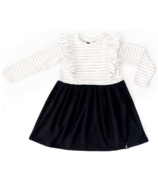 Today's Modern Bebe Child Ruffles Dress Black