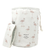 Zoe Ayla Waterproof Cosmetics Travel Bag Flamingo