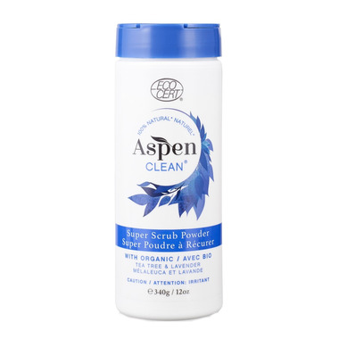 AspenClean SuperScrub Powder Tea Tree Lavender