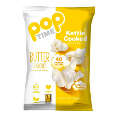 Pop Time Butter Flavored Kettle Corn