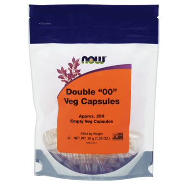 NOW Foods Double 00 Vcaps