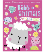 Make Believe Ideas Baby Animals Sticker Activity Book