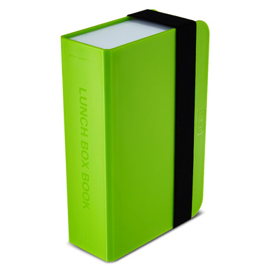 Box Appetit Lunch Box Book Lime