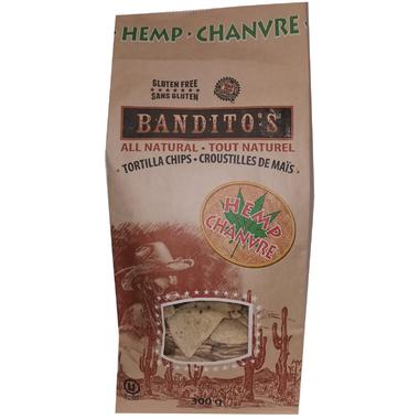 Bandito\'s All Natural Tortilla Chips Hemp