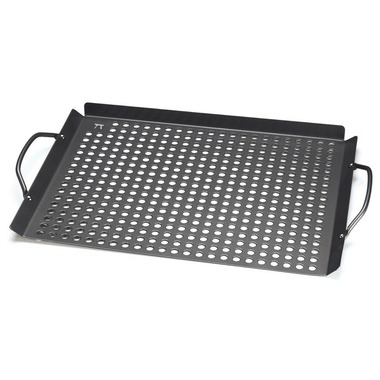 Outset Nonstick Grill Grid with Handles