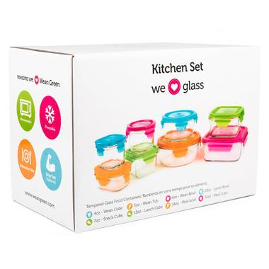 Wean Green Kitchen Set