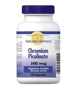 Nature's Harmony Chromium Picolinate