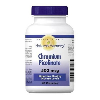 Nature\'s Harmony Chromium Picolinate