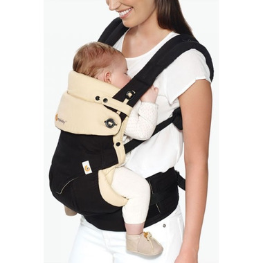 Ergobaby 360 Bundle of Joy All Position Baby Carrier & Insert