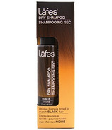 Lafes Dry Shampoo Tinted to Match Black Hair