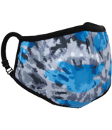 iScream Blue Tie Dye Mask Child Size