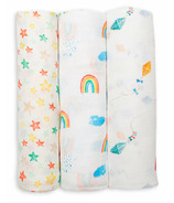 Lulujo Baby Bamboo Swaddles High in the Sky