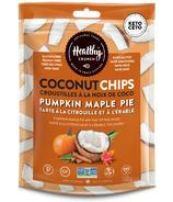 Croustilles de noix de coco à la citrouille et à la tarte à l'érable de Healthy Crunch