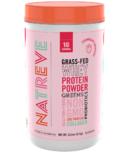 Natreve Grass Fed Whey Protein Powder Strawberry Shortcake