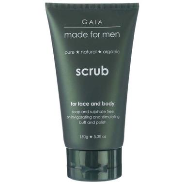Gaia Made For Men Face & Body Scrub