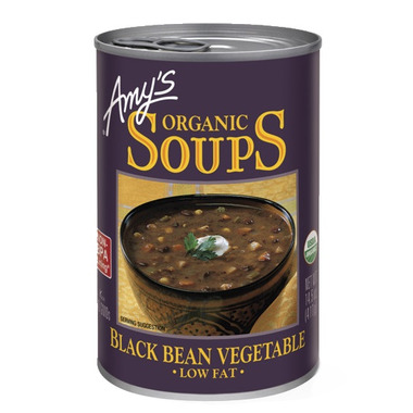 Amy\'s Organic Black Bean Vegetable Soup