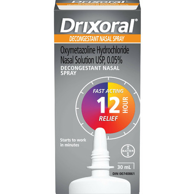 Drixoral Decongestant Nasal Spray