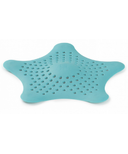 Umbra Starfish Drain Hair Catcher in Surf Blue