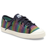 Keds Big Kids Kickstart Seasonal Toe Cap Rainbow