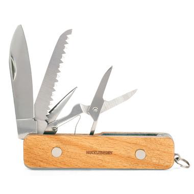 Kikkerland Huckleberry First Pocket Knife