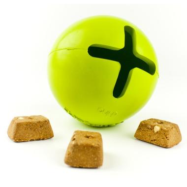 Petprojekt Small Tretbal Dog Toy in Green