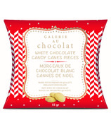 Galerie Au Chocolat White Chocolate Candy Cane Pieces